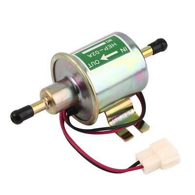 12V Universal Car Electric Fuel Pump Low Pressure Aluminum Oil Burning Pump  ZY