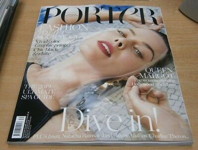 Porter magazine #30 Winter Escape 2018 Margot Robbie + Iman Natacha Ramsay &more