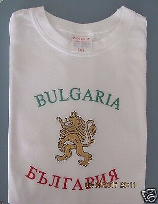 Tt-shirt  made in Bulgaria, Embroidered , Washed but never worn. Size Small