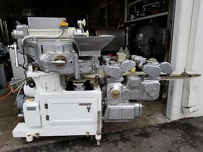 rheon 208SS Encrusting Automatic Machine Confectionery Extra Parts Clean !!