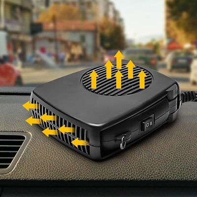 2 in 1 12V 150W Car Heater Cooling Fan Windscreen Handhold Demister Defroster  Z