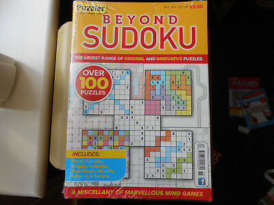 PUZZLER # BEYOND SUDOKU _ ISSUE No 85 # 2018 # FREE P&P Other Issues Available