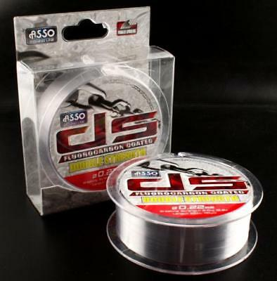 ASSO Fluorocarbon Coated Double Strength Fishing Line 600m