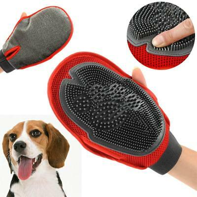 Cleaning Brush Magic Glove Pet Dog Cat Massage Hair Removal Grooming Groomer one