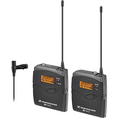 Sennheiser ew 112-p G3 Camera-Mount Wireless Mic System ME 2 EW112PG3-A 516-558m
