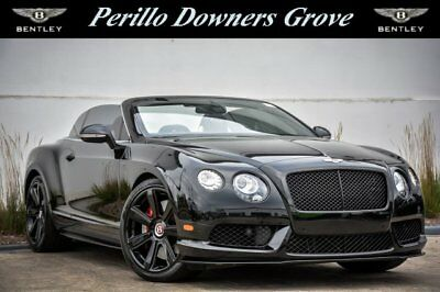 2015 Continental GT Concourse Series Black Specification 2015 Bentley Continental GTC V8 S for sale!