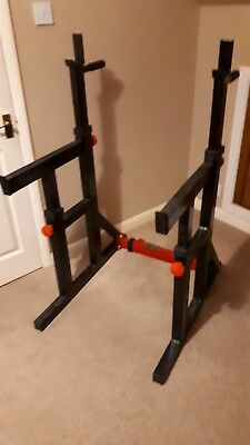 Bodymax SR80 Squat Rack and Dip Station