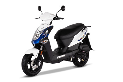 KYMCO Agility 50 4T E4 25km/h Mofa schwarz blau weiss inklusive Anlieferung