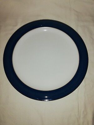 Denby Boston Blue Dinner Plate 10.5  Inches First Quality Pristine
