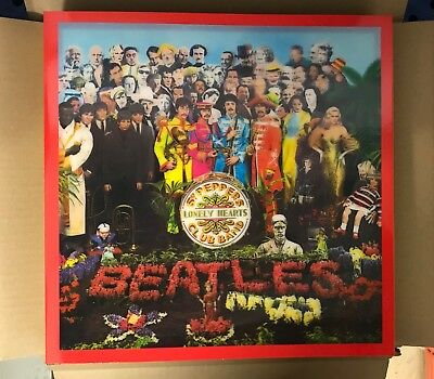 The Beatles - Sgt. Pepper's Lonely Hearts Club Band CD/Bluray/DVD New Sealed