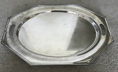 Vintage Alvin W35 Sterling Silver 22 Inch Tray Platter No Monogram