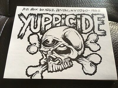 Yuppicide - Sticker 1993 *rar*