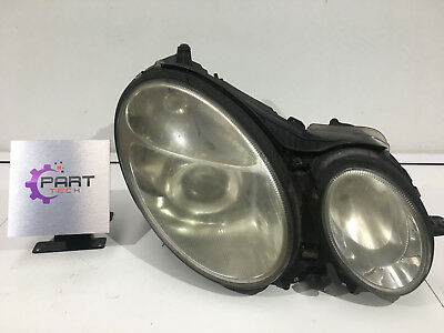 2003 Mercedes E Class Driver Side Headlight With Washer Genuine