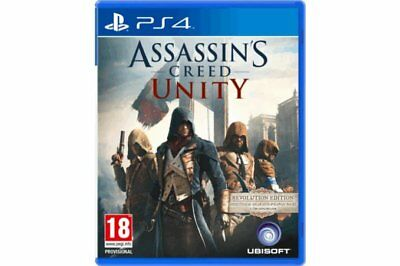 Assassins Creed Unity - Ps4 - Pal - Great Price - Trusted - Fast - New