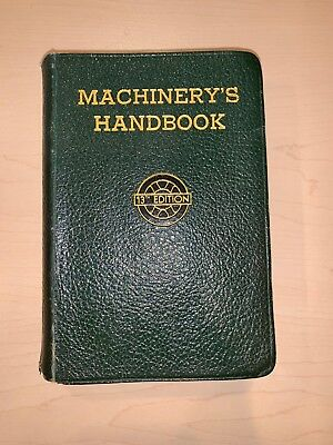 Vintage Machinery's Handbook 13th Edition  Machine Shop Drafting 1946