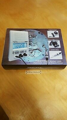 Timetrax Model 1000 Precision Timing Machine-Adams/brown-Complete In Box!!!!!!!!