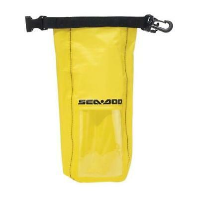 Sea-Doo 1-Litre Splash Proof Protection Yellow Dry Pouch