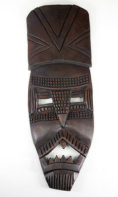 Art Asie Asia  - Grand masque en bois tropical - 75cm - Masker - Mask