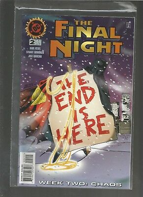 The Final Night #2 (Nov 1996, DC) VF/NM COMBINE SHIPPING