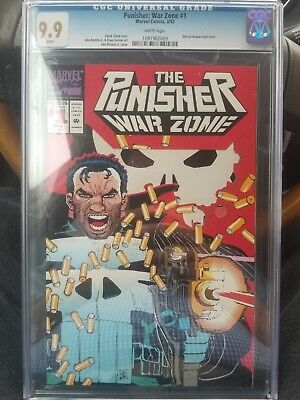 The Punisher: War Zone #1 CGC NM/M 9.9 White Pages