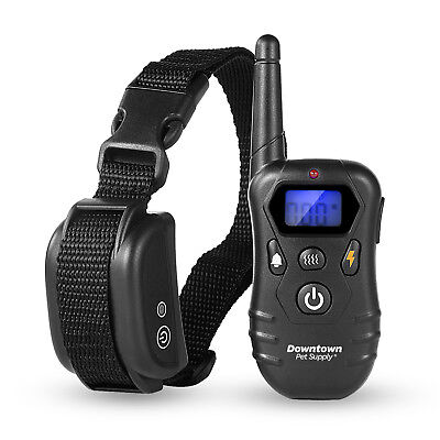 Dog E Bark Shock Training Collar for Small and Large Dogs Rechargeable Remote