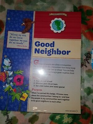Girl Scout Daisy Badge - New Good Neighbor Badges and Badge Book Curriculum