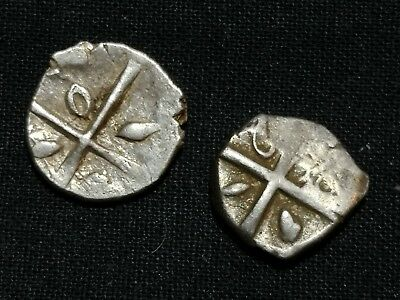 Celtic Gaul, Volcae Tectosages Silver Drachm, 2 pieces.