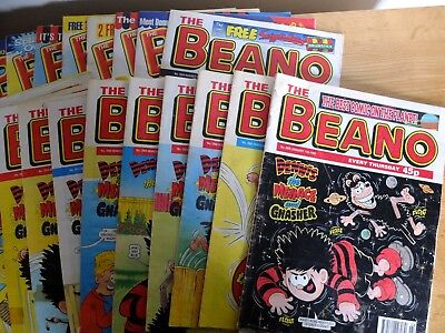 Job Lot 24 Beano Comics Jan to December 1998 (few missing not a full year)