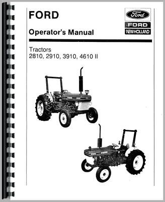 2810 Ford Tractor Wiring Diagram Online Wiring Diagram