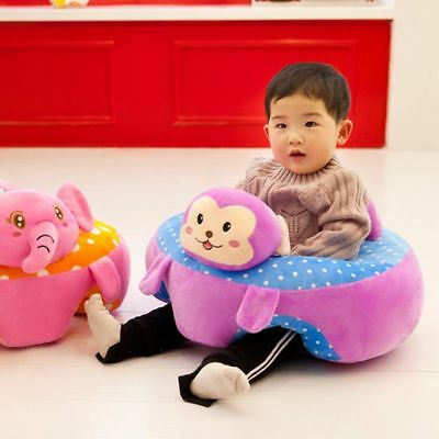 Baby Learning Sitting Support Chair Early Baby Chair Plush Infant Sofa Plush Toy