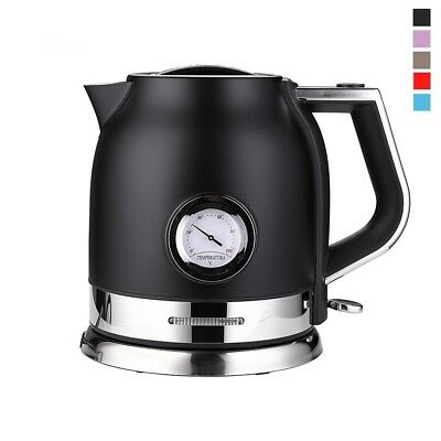 Stainless Steel Electric Kettle With Quick Heating Electric Boili 1.8L Colorful