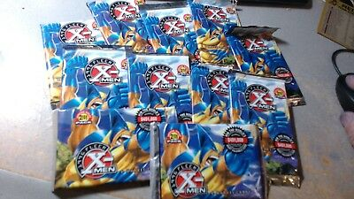 10 Sealed Packs 1996 Fleer X Men 6 Cards Per  Pack Marvel