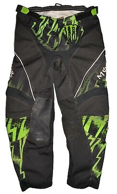 ONeal Mayhem Ricky Dietrich Monster Energy Motocross Motorcycle Pants Mens SZ 38
