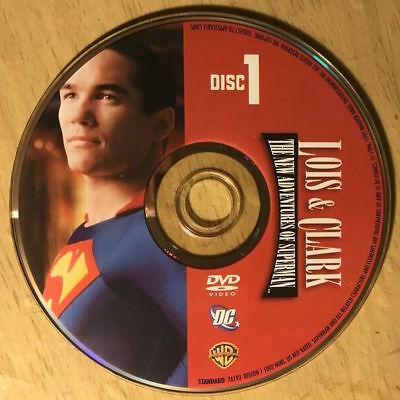 Lois & Clark The New Adventures of Superman (DVD) REPLACEMENT DISC #1