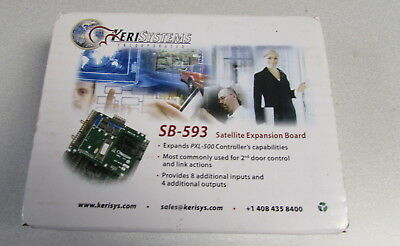 Keri Systems SB-593 Satellite Expansion Board PXL Tiger Access 60 Day Returns
