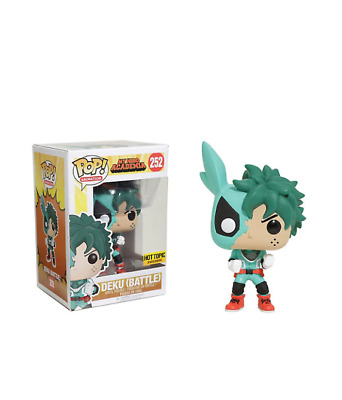 My Hero Academia Battle Deku Hot Topic Exclusive Funko Pop Mint Pre Order!