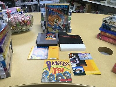 Nintendo NES Videomation CIB Complete with box, manual, poster