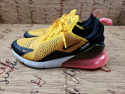 Nike Air Max 270 Tiger Black/University Gold/Hot Punch AH8050-004 SZ 11