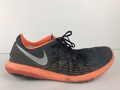 new style c5b34 5e571 NIKE FLEX FURY 2 Men's Sz 13 819134-009 Athletic Running Shoes Trainers