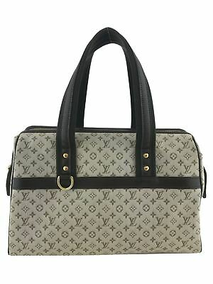 Louis Vuitton Josephine GM Mini Lin Canvas Bag
