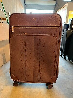 Vince Camuto Ameliah 24'' Expandable Soft Spinner Suitcase Luggage Purp