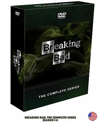 Breaking Bad: The Complete Series 1-6 (DVD, 2014, 21-Disc Set), Brand New