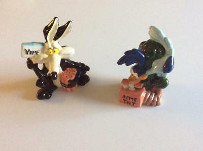 Salt and Pepper shakers  - Wilie E Coyote and Road Runner