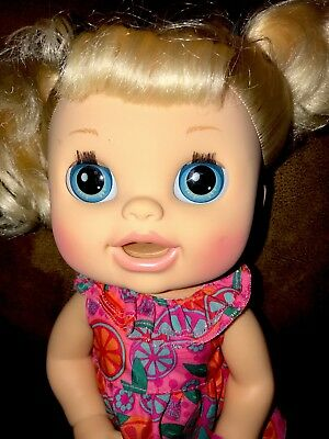 Baby Alive 2012 Real Surprises Doll Hasbro Blonde Interactive Doll
