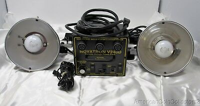 Novatron V240D Power Pack with 2 Flashing Bulbs LOOK 2140c | 11854