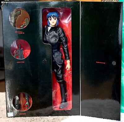 "Motoko Kusanagi 12"" A.d. Variant #1 Figure Ghost In The Shell Toycom New-Tlc Box"