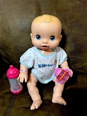 2006 Baby Alive Wets N Wiggles Anatomically Correct GiRl Twin Doll