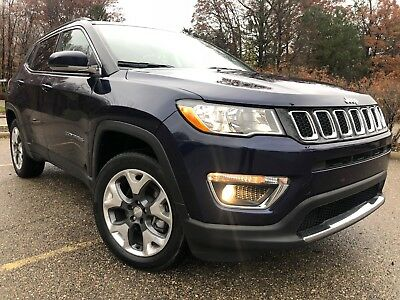 2018 Jeep Compass LIMITED 2018 Jeep Compass 4X4
