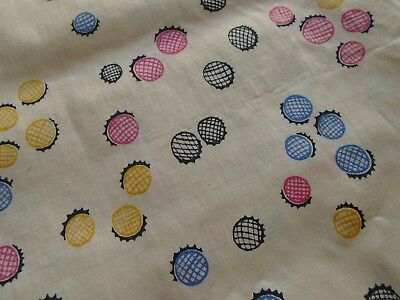 Vintage Fabric, Silky Synthetic with Great Drape, Yardage