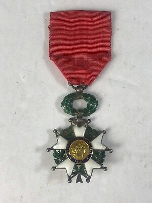Original Third Republic French Légion d'honneur (Legion of Honor) with Ribbon